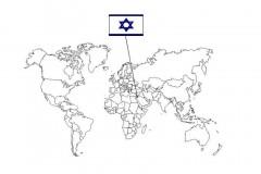 carte-israël